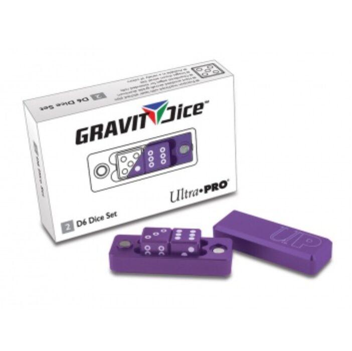 UP - Gravity Dice D6 - Royal - 2 Dice Set