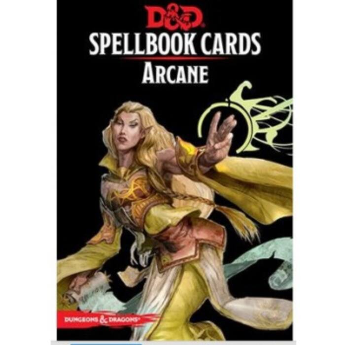 D&D Spellbook Cards - Arcane (257 Cards) - EN
