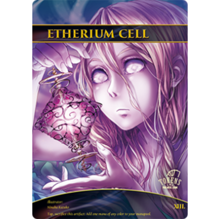 Tokens for MTG - Etherium Cell (10 pcs)