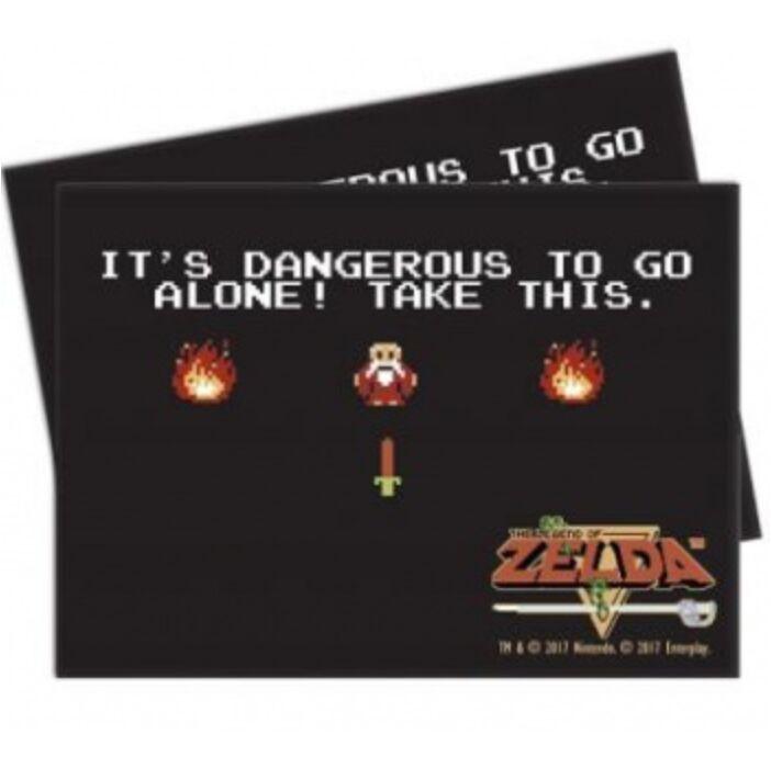 UP - Sleeves Standard - The Legend of Zelda: Dangerous (65 Sleeves)