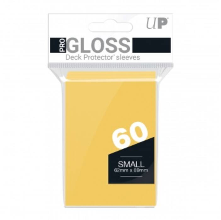UP - Small Sleeves - Yellow (60 Sleeves)
