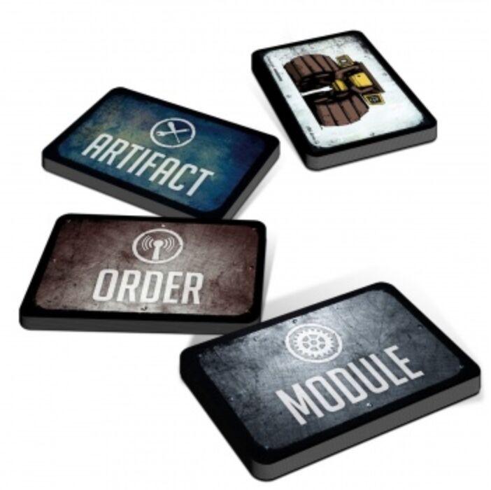 Mutant: Mechatron Card Deck - EN