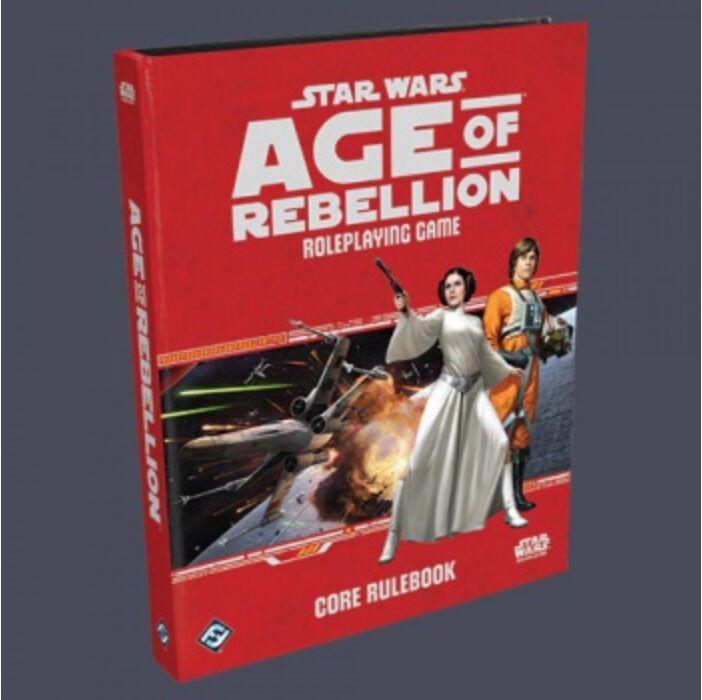 FFG - Star Wars Age of Rebellion RPG: Core Rulebook - EN