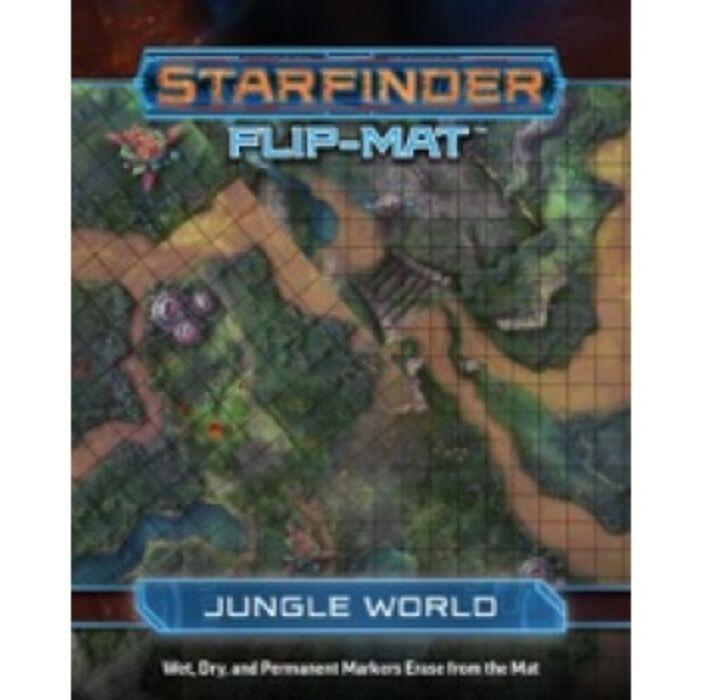 Starfinder Flip-Mat Starship: Jungle World