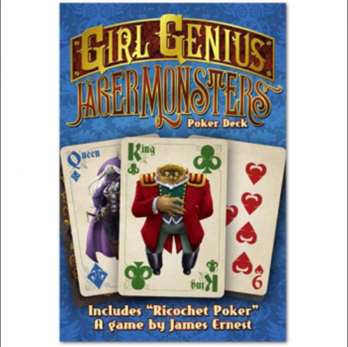 Jägermonsters Poker Deck - EN