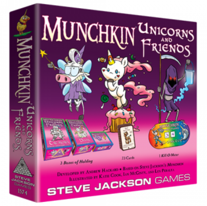 Munchkin Unicorns and Friends - EN
