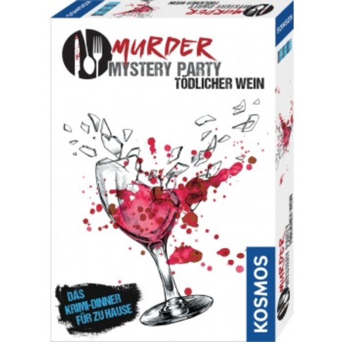 Murder Mystery Party - Tödlicher Wein - DE