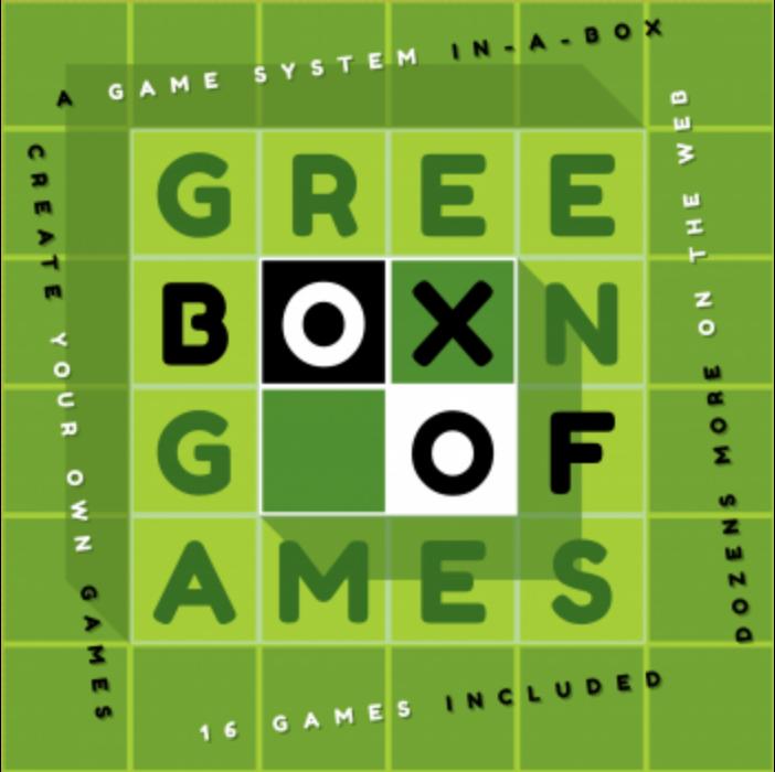 Green Box of Games - EN/DE/FR