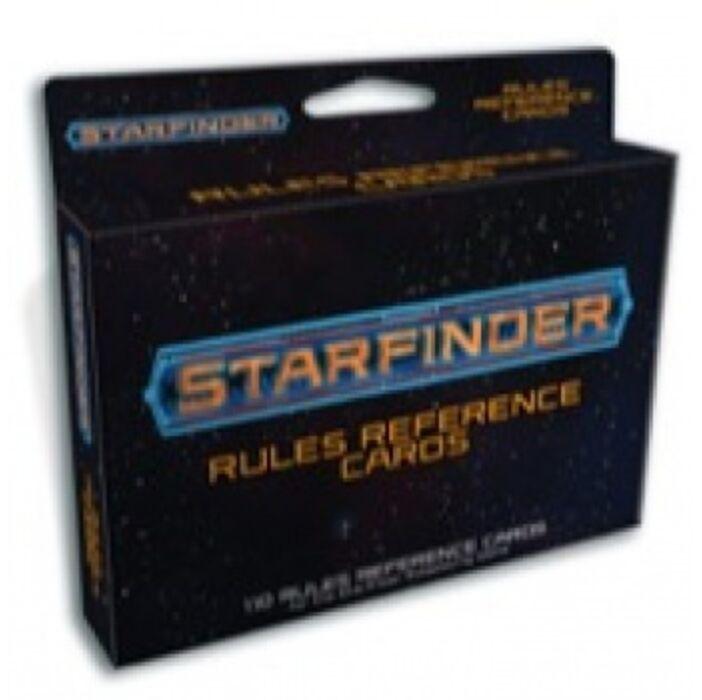 Starfinder Rules Reference Cards Deck - EN