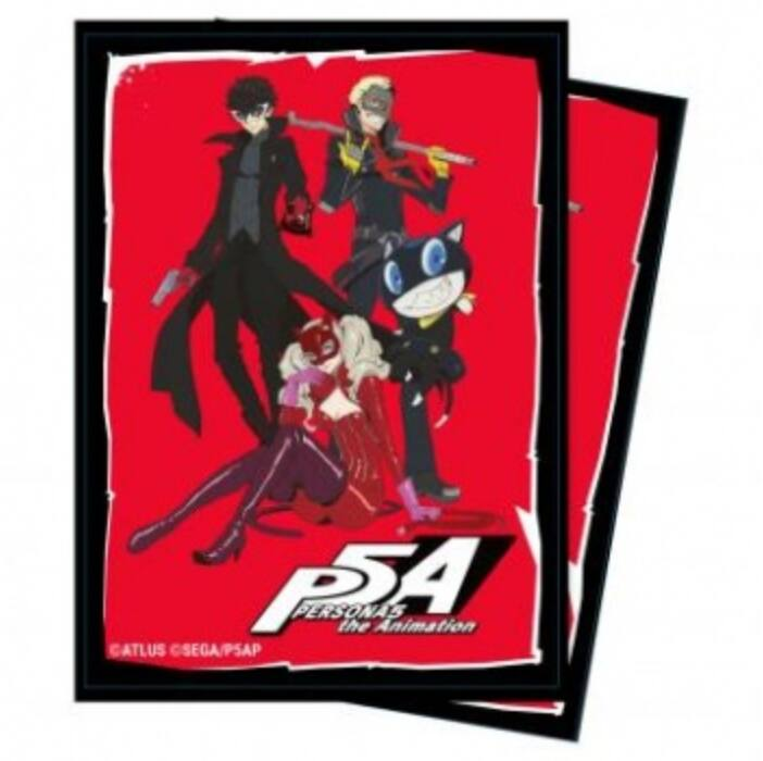 UP - Deck Protector Sleeves - Persona 5: The Phantom Thieves (65 Sleeves)