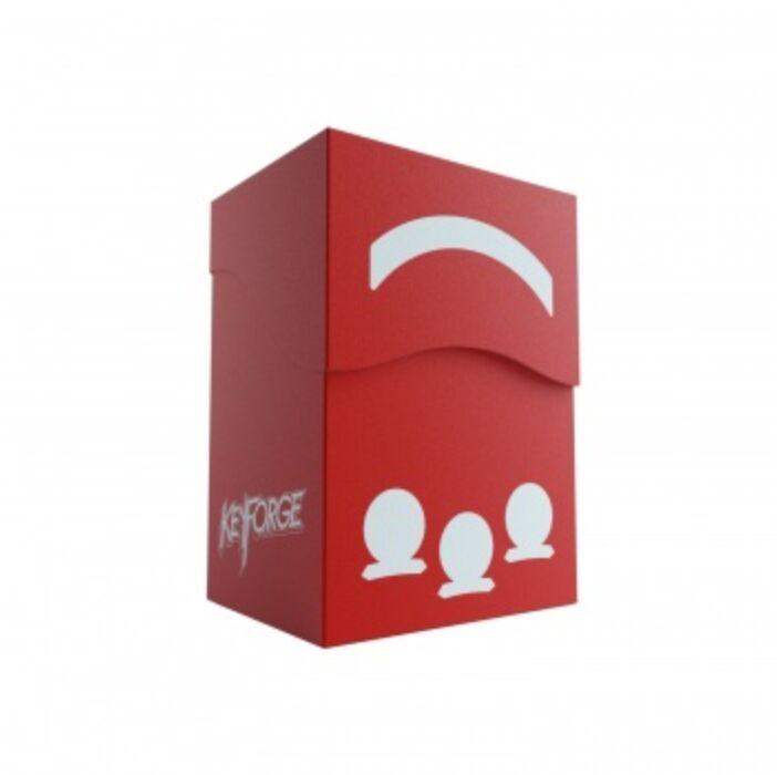 Gamegenic KeyForge Gemini Deck Box - Red