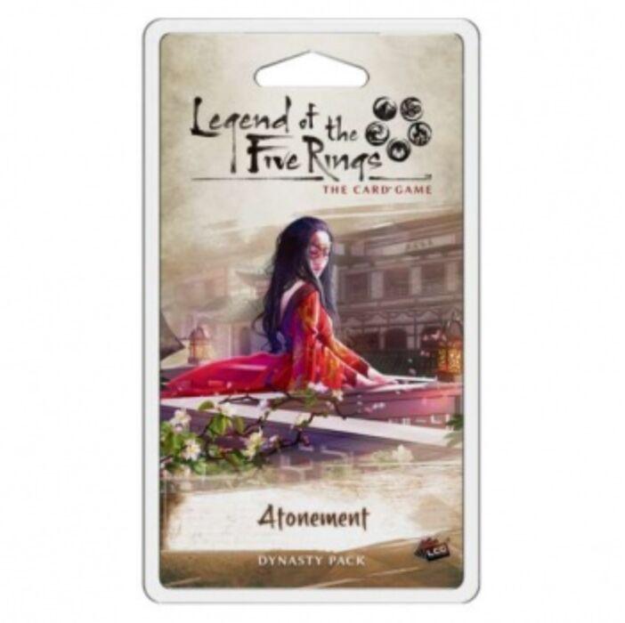 FFG - Legend of the Five Rings LCG: Atonement Dynasty Pack - EN