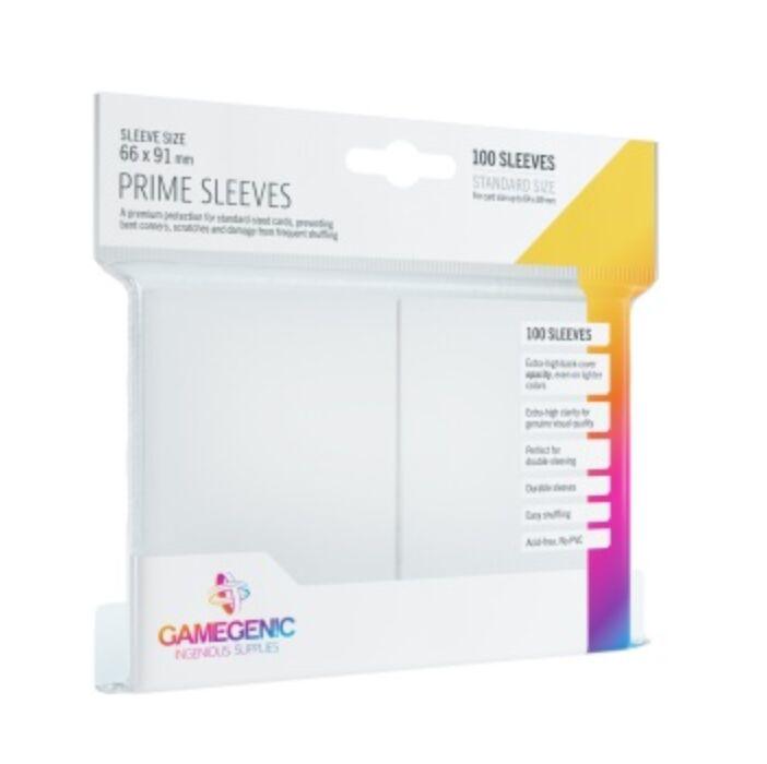 Gamegenic - Prime Sleeves White (100 Sleeves)