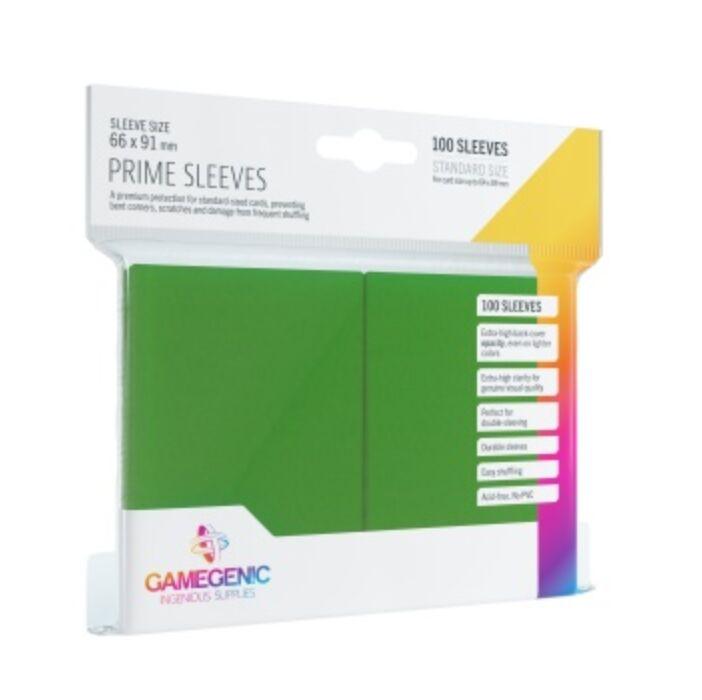 Gamegenic - Prime Sleeves Green (100 Sleeves)