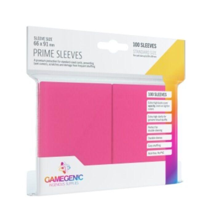 Gamegenic - Prime Sleeves Pink (100 Sleeves)