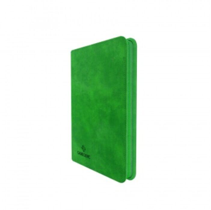 Gamegenic - Zip-Up Album 8-Pocket Green