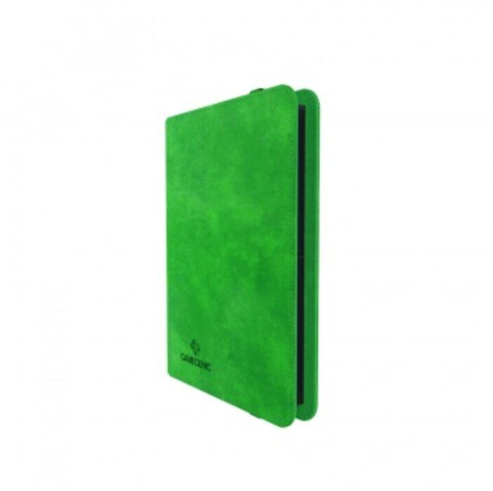 Gamegenic - Prime Album 8-Pocket Green