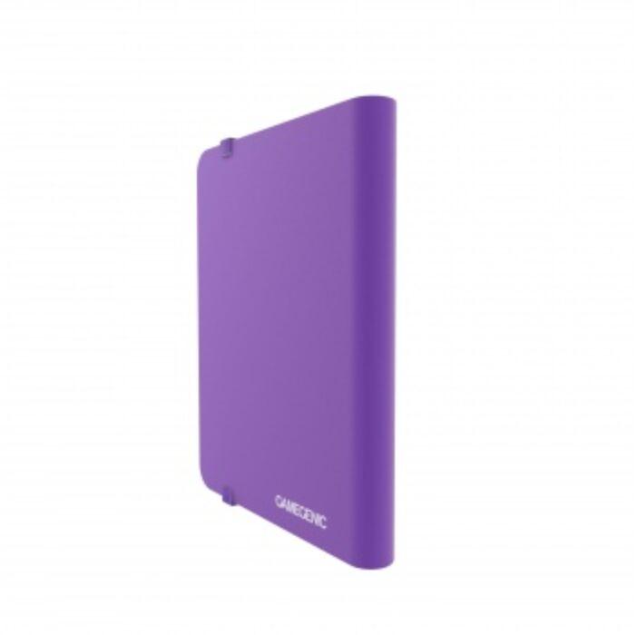 Gamegenic - Casual Album 8-Pocket Purple