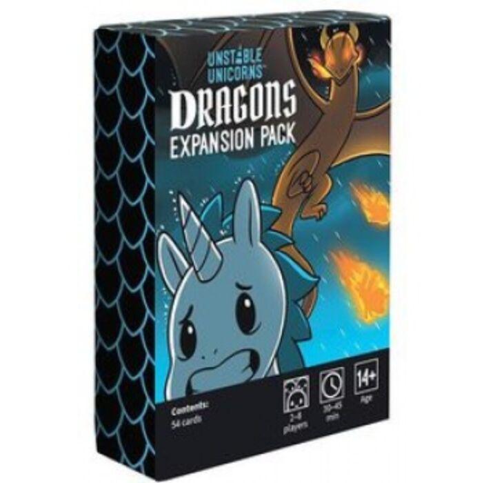 Unstable Unicorns Dragons Expansion - EN