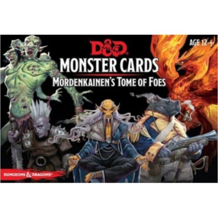 D&D Monster Cards - Mordenkainen's Tome of Foes (109 cards) - EN