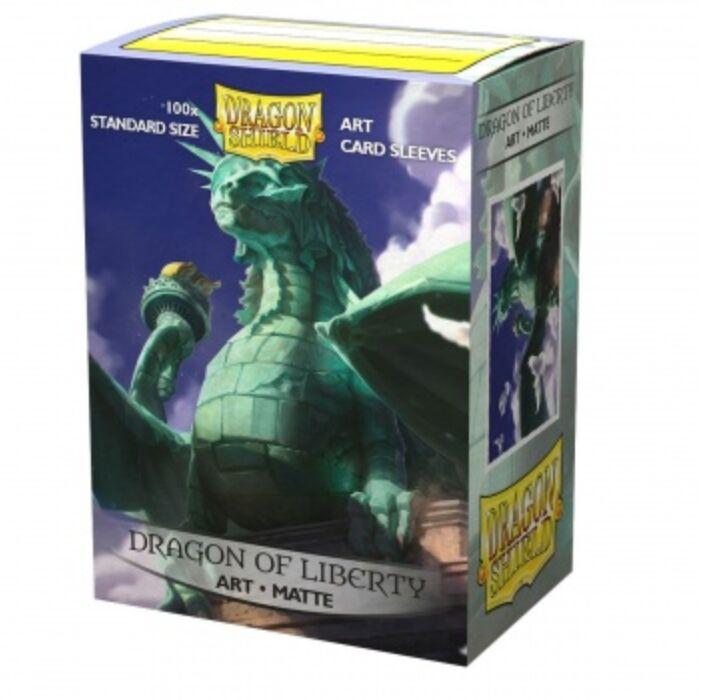 Dragon Shield Matte Art Sleeves - Dragon of Liberty (100 Sleeves)