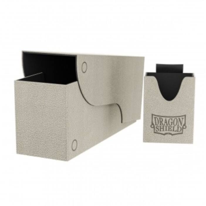 Dragon Shield Nest Box+ 300 Light Grey/Black