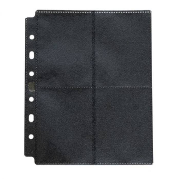 Dragon Shield 8 pocket pages - Clear (50 pcs.)