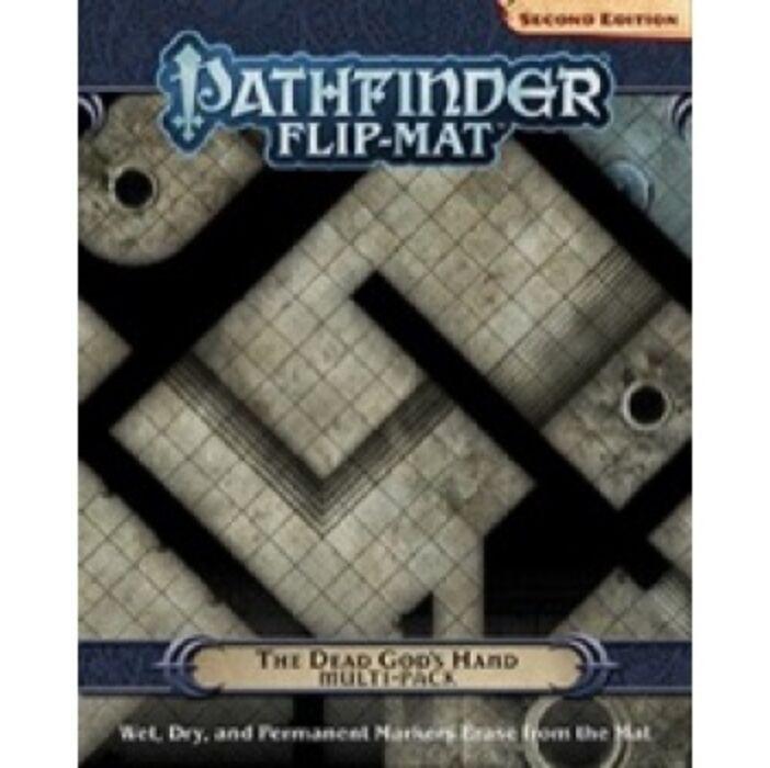 Pathfinder Flip-Mat: The Dead God's Hand Multi-Pack 2nd Edition