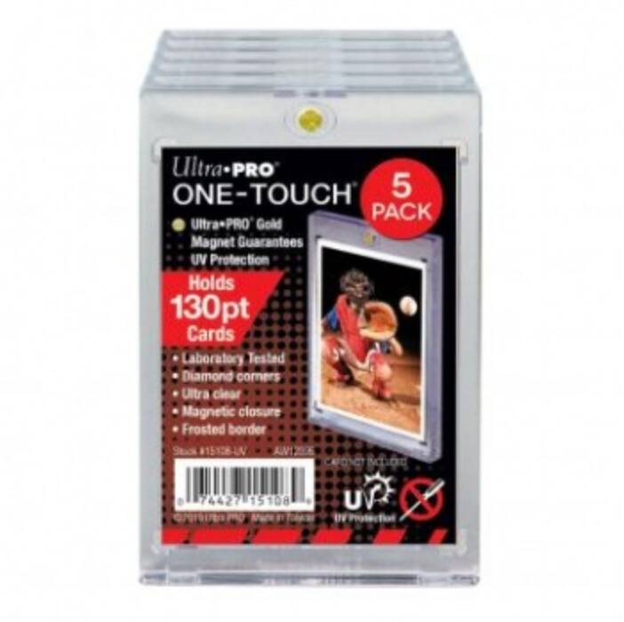 UP - 130PT UV One-Touch Magnetic Holder - 5 Pack
