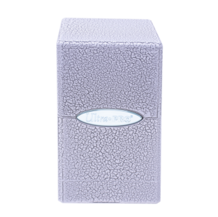 UP - Deck Box - Satin Tower - Ivory Crackle