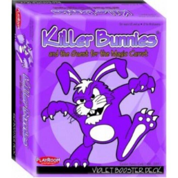 Killer Bunnies Quest Violet Booster - EN