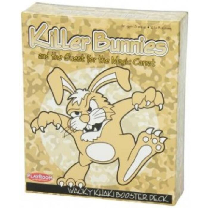 Killer Bunnies Quest Wacky Khaki Booster - EN