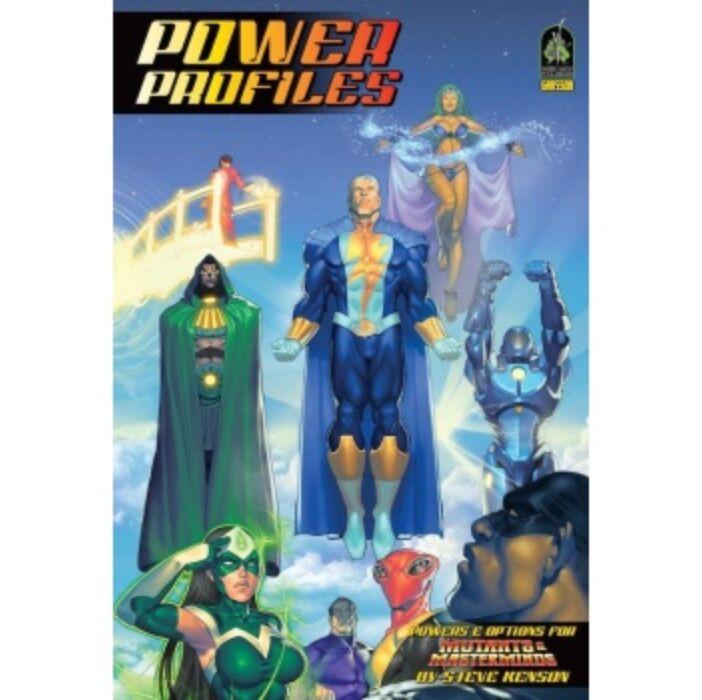 Mutants & Masterminds 3rd Edition: Power Profiles - EN