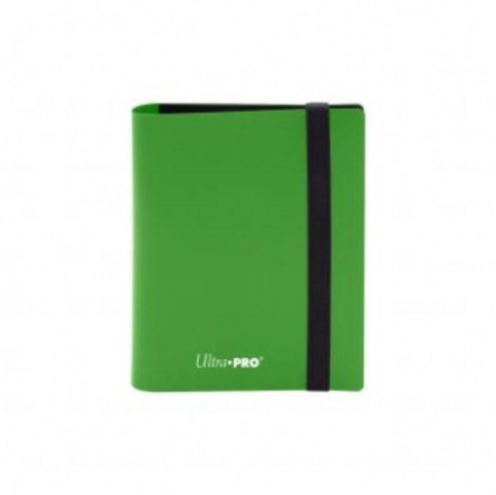 UP - 2-Pocket PRO-Binder - Eclipse Lime Green