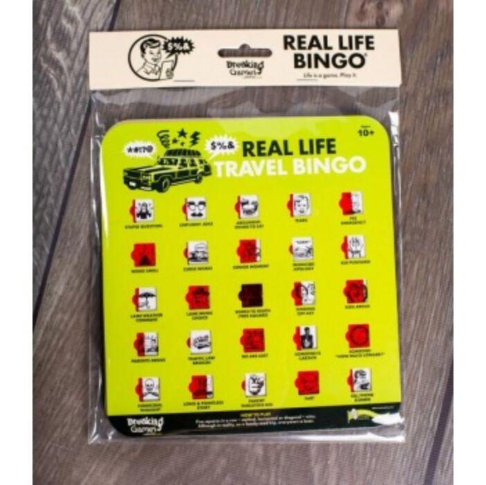 Real Life Travel Bingo - EN