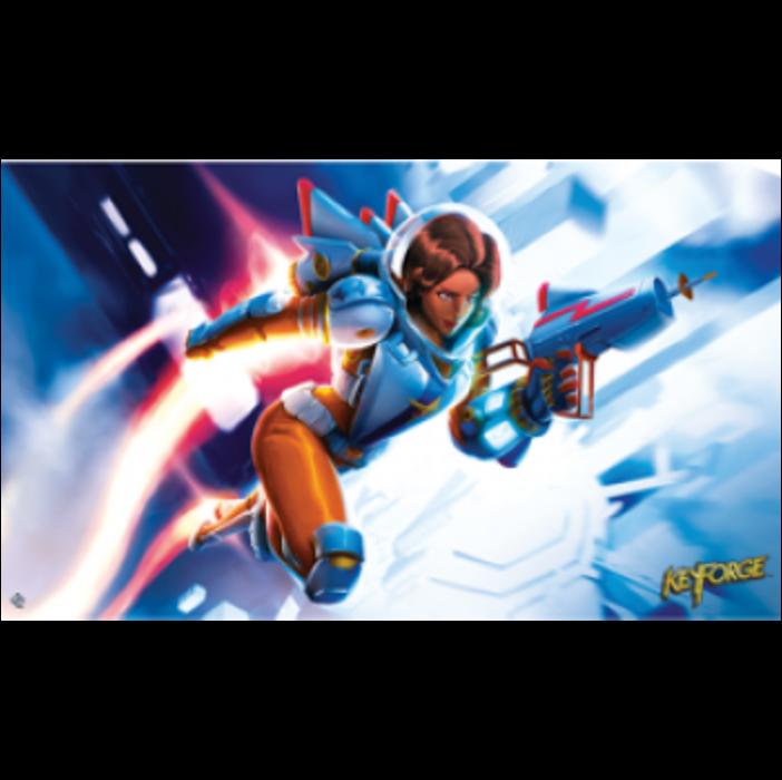 FFG - KeyForge: Tactical Officer Moon Playmat