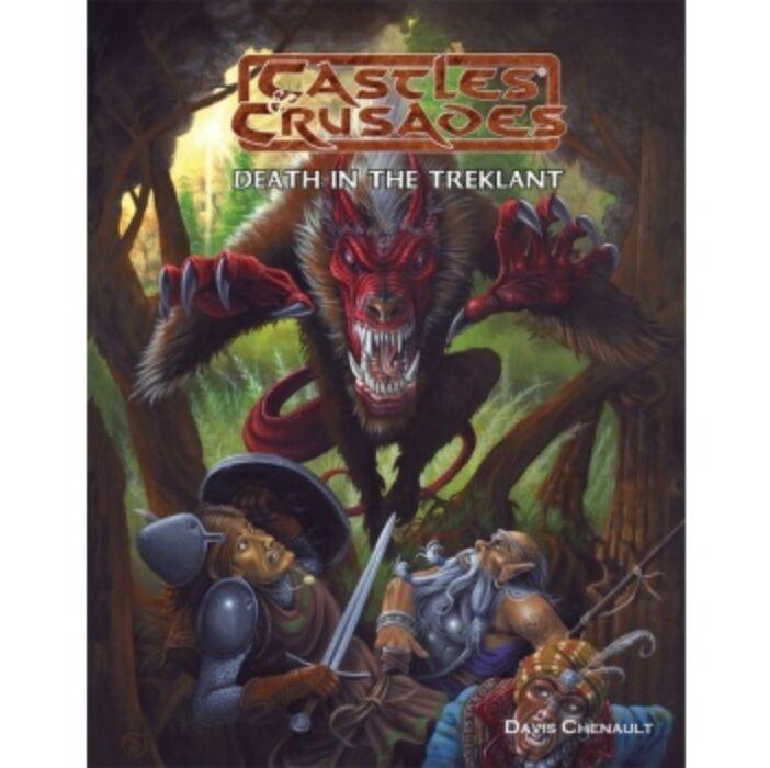Castles and Crusades RPG: Death in the Treklant - EN
