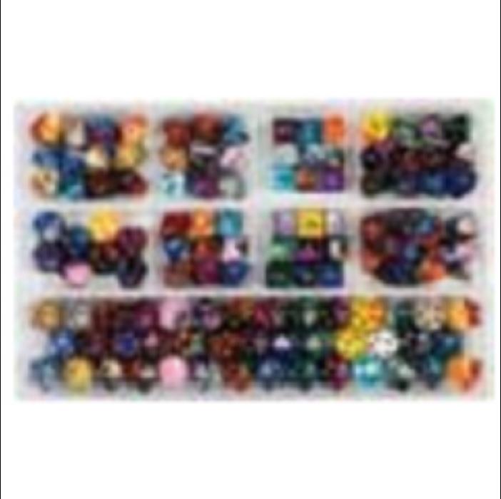 Chessex Loose Dice Samplers, Displays & 125 Polyhedral Dice Assortments - Assortment: Gemini Polyhedral Dice