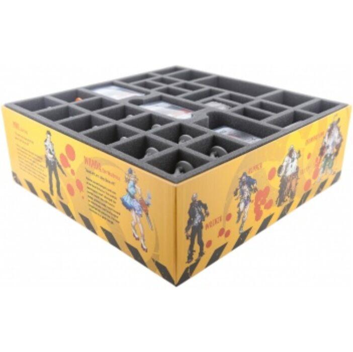 Feldherr foam tray value set for Zombicide Season 1 - Core Game Box