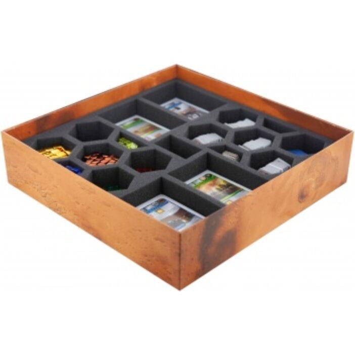 Feldherr foam set for Terraforming Mars - board game box