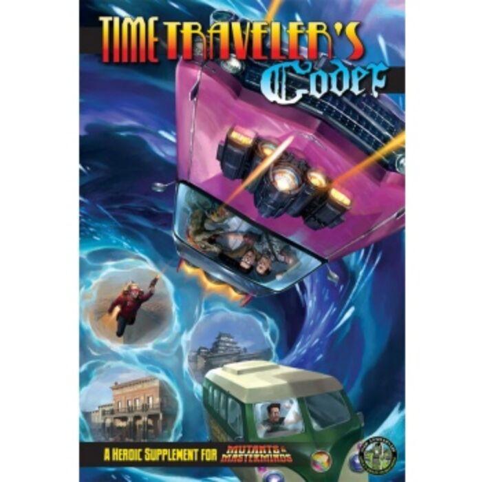 Mutants & Masterminds: Time Traveler's Codex - EN