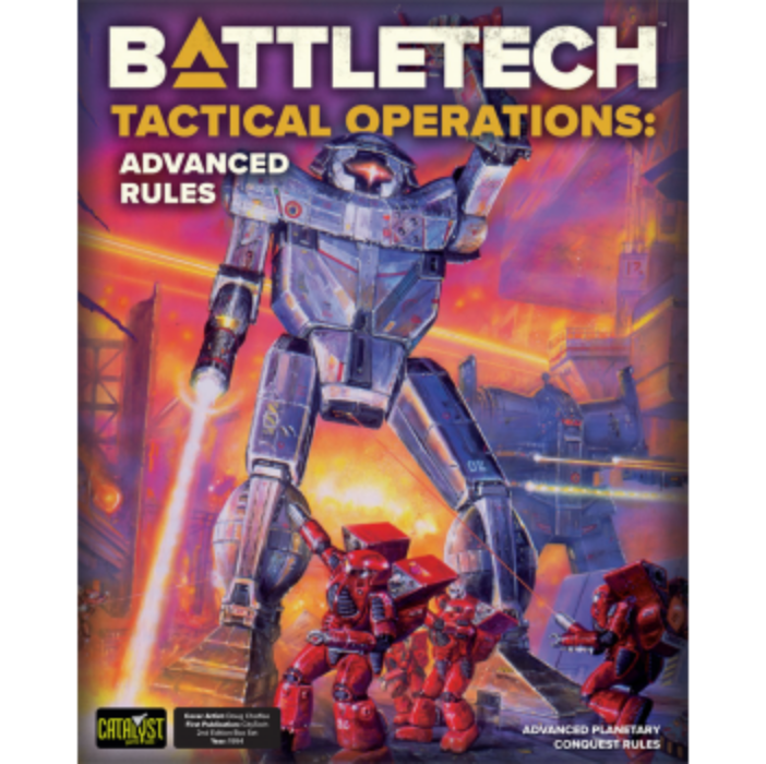 BattleTech Tactical Operations: Advanced Rules - EN