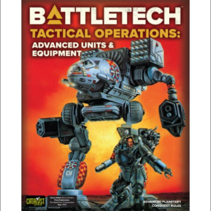 BattleTech Tactical Operations: Advanced Units & Equipment - EN
