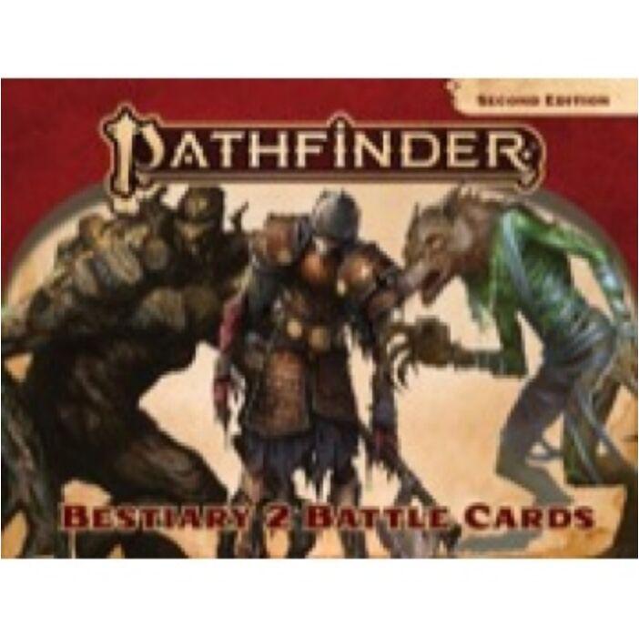Pathfinder Bestiary 2 Battle Cards (P2) - EN