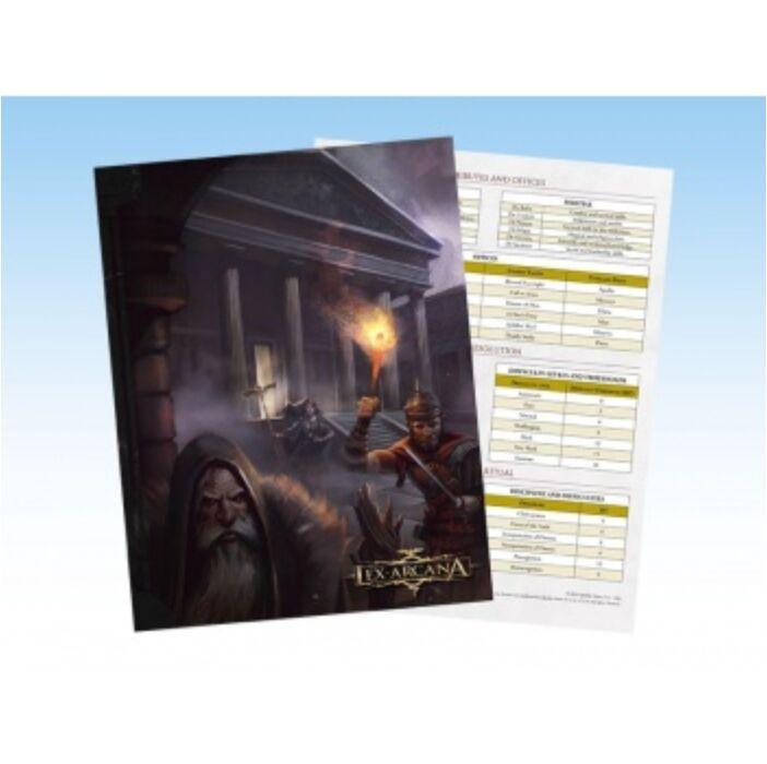 Lex Arcana RPG Demiurge Screen - EN