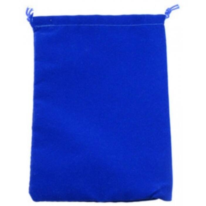 Chessex Small Suedecloth Dice Bags Royal Blue
