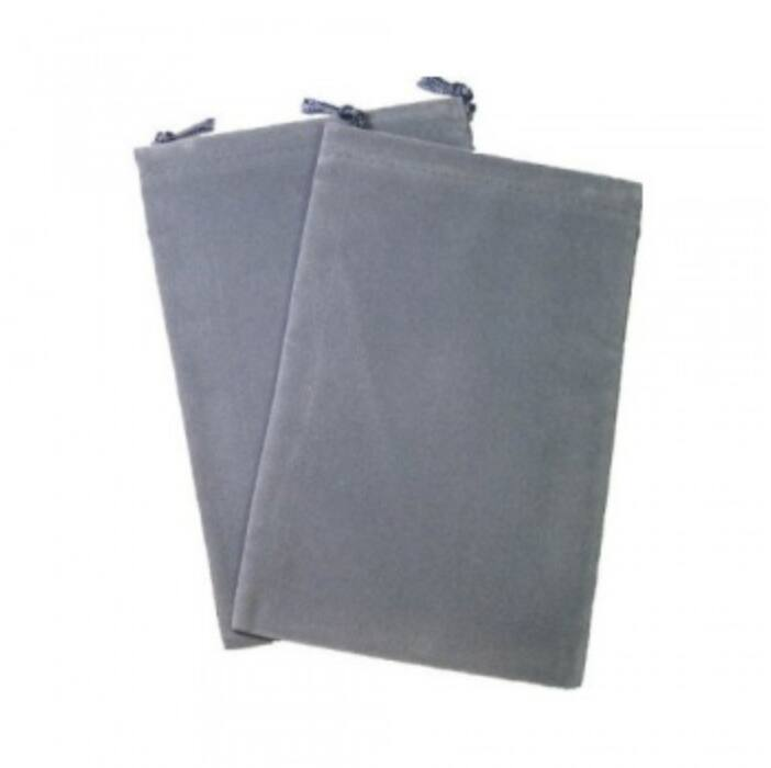 Chessex Large Suedecloth Dice Bags Grey