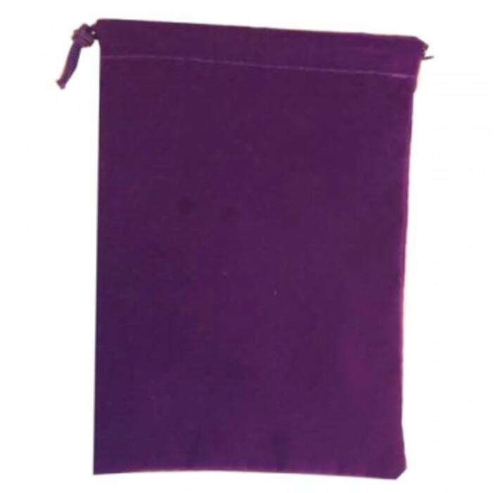 Chessex Large Suedecloth Dice Bags Purple