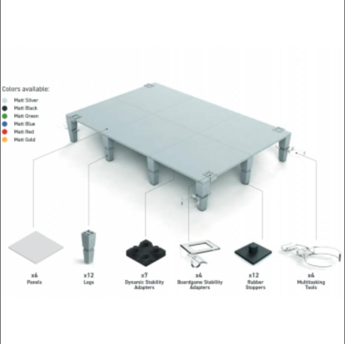 AdapTableTop modular system for boardgames (blue)
