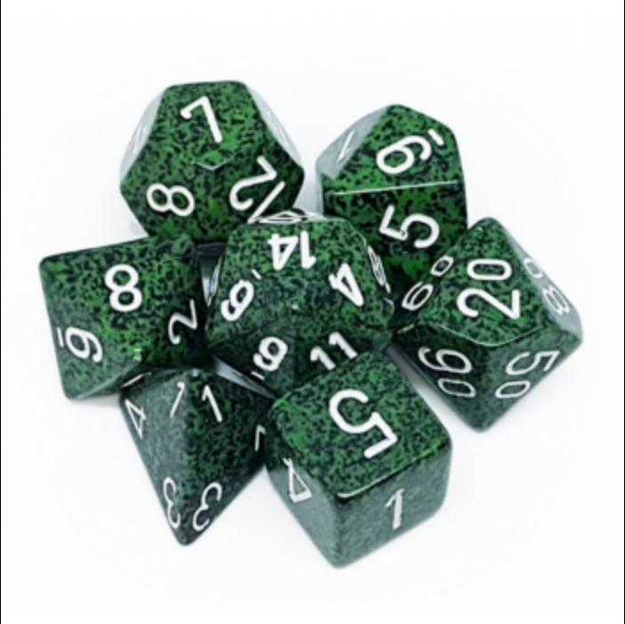 Chessex Speckled Polyhedral 7-Die Set - Recon